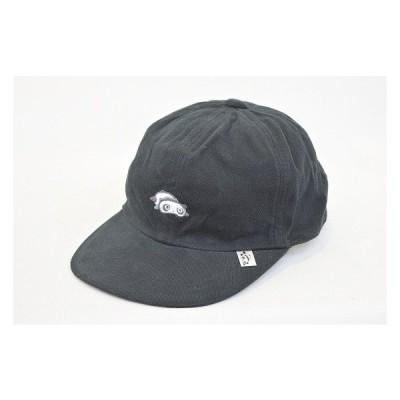 六方キャップ キッズ ジュニア たれぱんだ 9751205 ブラック 黒 帽子 スポーツ ファッション かわいい お出かけ お散歩 手洗い ネット通販 オールシーズン