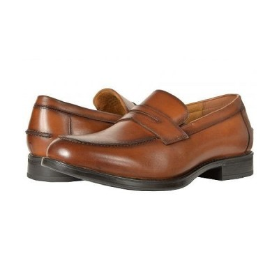 Florsheim フローシャイム メンズ 男性用 シューズ 靴 ローファー Midtown Penny Slip-On - Cognac Smooth