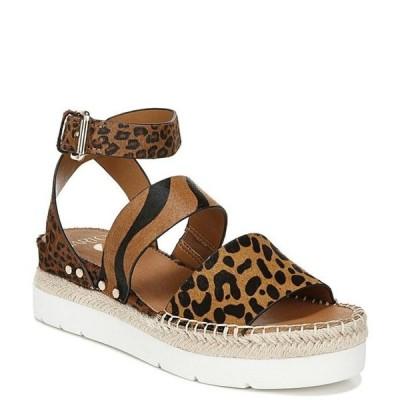 フランコサルト レディース サンダル シューズ Sarto by Franco Sarto Calvin Leopard Calf Hair Sandals