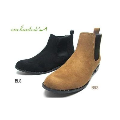 エンチャンテッド enchanted 撥水スタッズサイドゴアブーツ レディース 靴