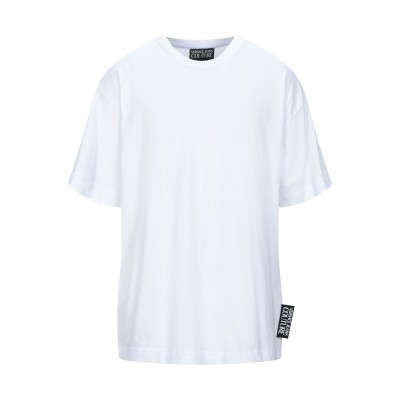 VERSACE JEANS COUTURE T シャツ ホワイト XS コットン 100% T シャツ