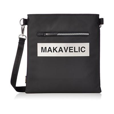 マキャベリック ショルダーバッグ LUDUS BOX-LOGO SHOULDER BAG ショルダーバック 3108-10502 ブラック/