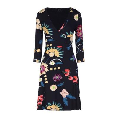 デシグアル DESIGUAL ミニワンピース&ドレス ブラック XL レーヨン 93% / ポリウレタン 7% ミニワンピース&ドレス