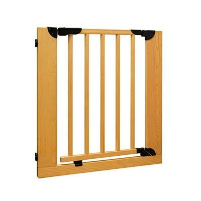 シンセーインターナショナル KISSBABY 木製ゲート ナチュラル 75-85cm [自動開閉]