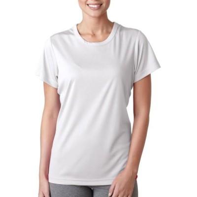 ユニセックス 衣類 トップス UltraClub Ladies' Cool & Dry Sport Performance Interlock T-Shirt グラフィックティー