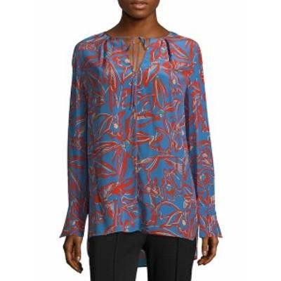 ダイアンフォンファステンバーグ レディース トップス シャツ Floral Silk Blouse