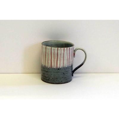 九谷焼 手描きで仕上げられた 作家作品 十草マグカップ