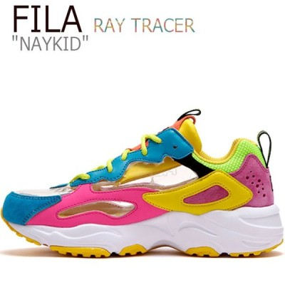 フィラ レイ スニーカー FILA メンズ レディース RAY TRACER NAYKID レイ トレーサー ネイキッド PINK ピンク YELLOW イエロー FS1HTB3501X FLFL9F3U28 シューズ