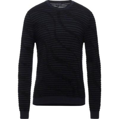 アルマーニ GIORGIO ARMANI メンズ ニット・セーター トップス sweater Dark blue