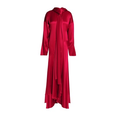 ROKSANDA ロングワンピース&ドレス ガーネット 6 シルク 100% ロングワンピース&ドレス
