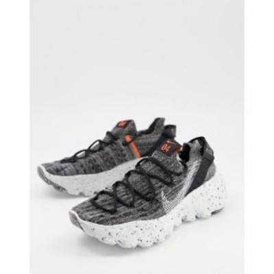 ナイキ Nike レディース スニーカー シューズ・靴 Space Hippie Trainers In Grey ブラック