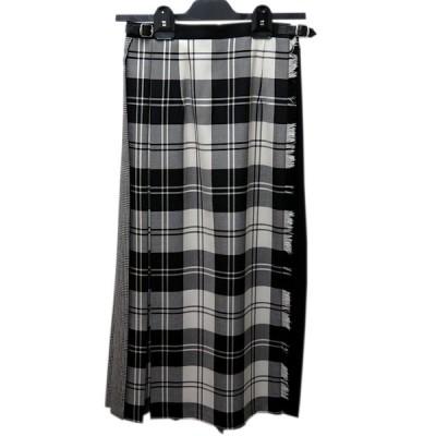 【30%OFF】オニールオブダブリン Oneil of Dublin パッチワークレギュラーキルトラップスカート T5083 カラー:BEW/BLKW/PRINW サイズ:8 返品不可