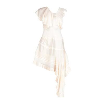 クロエ CHLOÉ ミニワンピース&ドレス ベージュ 38 シルク 87% / ポリウレタン 13% / レーヨン ミニワンピース&ドレス