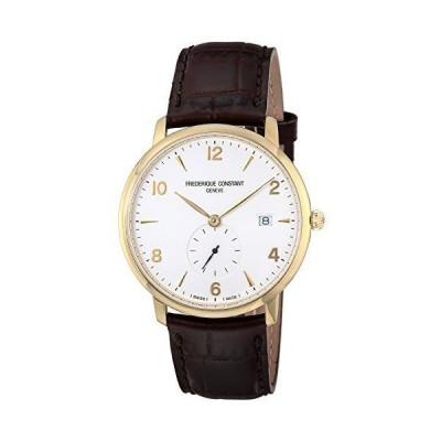 [フレデリック・コンスタント] 腕時計 スリムライン ホワイト文字盤 245VA5S5 メンズ 並行輸入品 ブラウン