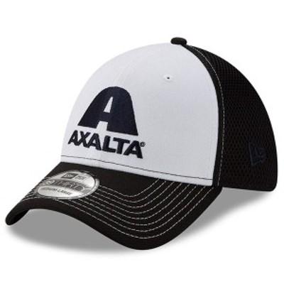 ニューエラ メンズ 帽子 アクセサリー William Byron New Era Axalta NEO 39THIRTY Flex Hat Black/White