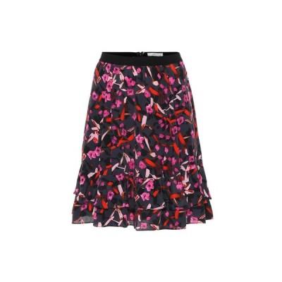 ドロシー シューマッハ Dorothee Schumacher レディース ミニスカート スカート abstract flowering floral miniskirt Grey Artsy