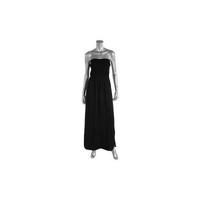 ドレス 女性  レイチェルレイチェルロイ? Rachel Rachel Roy 4384 レディース ブラック ストラップless Full-Length カジュアル ドレス M