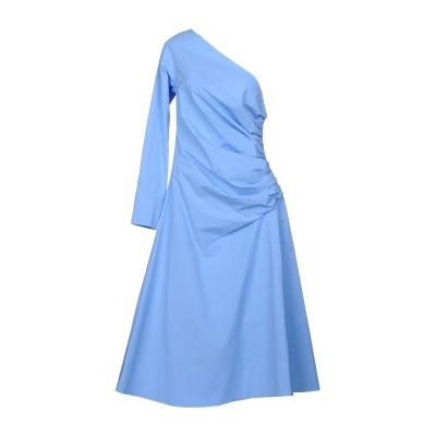 エミリオ・プッチ EMILIO PUCCI 7分丈ワンピース・ドレス アジュールブルー 38 95% コットン 5% ポリウレタン 7分丈ワンピース