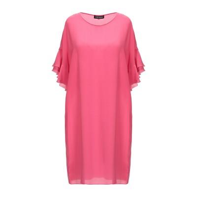 ツインセット シモーナ バルビエリ TWINSET ミニワンピース&ドレス フューシャ 38 100% シルク ミニワンピース&ドレス