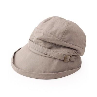 帽子 ハット 抗菌防臭 ベルト風ディテールクロッシェ