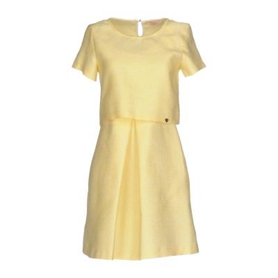 ブルーガール ブルマリン BLUGIRL BLUMARINE ミニワンピース&ドレス イエロー 44 ポリエステル 66% / コットン 34% ミ