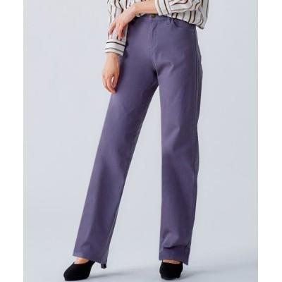 【大きいサイズ】 モニターさんと一緒に作ったよく伸びるすっきり見えストレートパンツ(オトナスマイル) パンツ, plus size pants