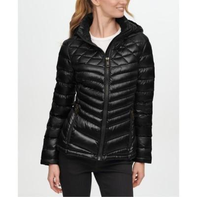 カルバンクライン レディース コート アウター Shine Hooded Packable Down Puffer Coat