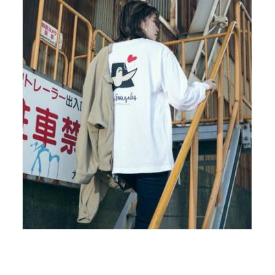 ≪MarkGonzales/マークゴンザレス≫LIPSTAR別注コラボロングTシャツ
