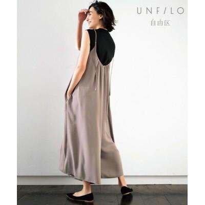 UNFILO/アンフィーロ 【UNFILO】オールインワン Tシャツ セット (検索番号:UF23) オリーブ系 46