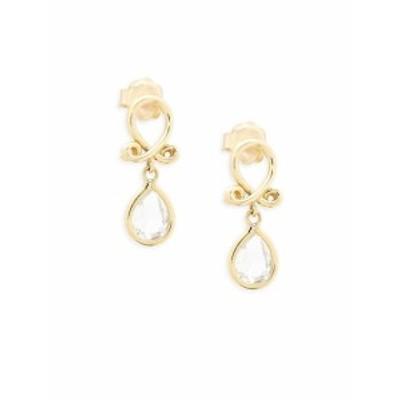 テンプルセントクレア レディース ジュエリー 18k Yellow Gold Loop Earrings