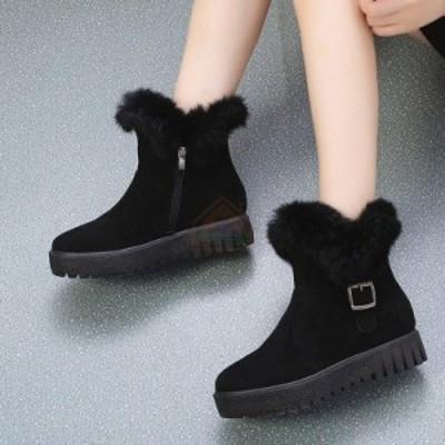軽量 防寒ブーツ ミドル丈 ダウンブーツ スノーブーツ 防寒靴 防滑