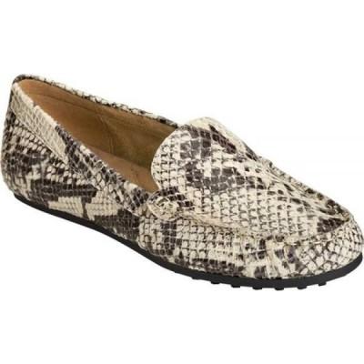 エアロソールズ Aerosoles レディース ローファー・オックスフォード シューズ・靴 Over Drive Loafer Natural Snake Printed Leather