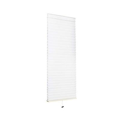 小窓用 スクリーン 35cm × 90cm ハニカムシェード | ロールスクリーン 断熱 小窓 カーテン ホワイト(C270-S1)