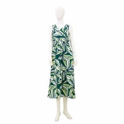 Ocean Blue Bird ノースリハイビワンピースショート丈 || レディースアパレル ドレス