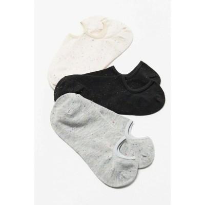 アーバンアウトフィッターズ Urban Outfitters レディース ソックス 3点セット インナー・下着 confetti ankle sock 3-pack Neutral Multi