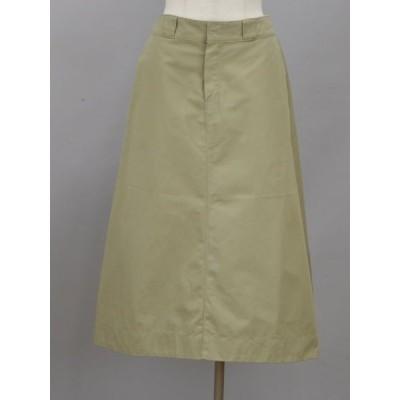 ディッキーズ Dickies チノ ロングスカート Mサイズ ベージュ レディース F-L6075