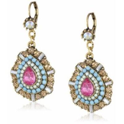 """ベッツィ・ジョンソン ピアス アメリカ Betsey Johnson""""St. Barts"""" Crystal Teardrop Earrings"""