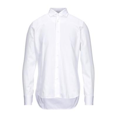 CALLISTO CAMPORA シャツ ホワイト 40 コットン 50% / ポリエステル 50% シャツ