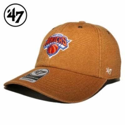 47ブランド カーハート コラボ ストラップバックキャップ 帽子 メンズ レディース 47BRAND CARHARTT NBA ニューヨーク ニックス フリーサ