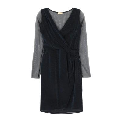 リュー ジョー LIU •JO ミニワンピース&ドレス ダークブルー 42 レーヨン 85% / 金属 15% / ナイロン ミニワンピース&ドレス