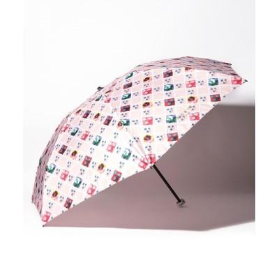 (PAUL & JOE ACCESSORIES/ポール アンド ジョー アクセソワ)PAUL & JOE ACCESSOIRES(ポール & ジョー アクセソア)折りたたみ傘/レディース ピンク