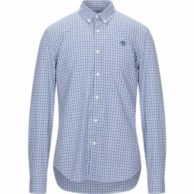 ティンバーランド TIMBERLAND メンズ シャツ トップス checked shirt Azure