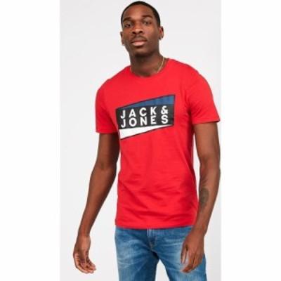 ジャック アンド ジョーンズ Jack and Jones メンズ Tシャツ トップス Jcoshaun Short Sleeve T-Shirt Chinese Red
