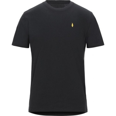 WALTBAY メンズ Tシャツ トップス t-shirt Black