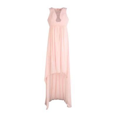 アンナリータ エンネ ANNARITA N ロングワンピース&ドレス ピンク 44 ポリエステル 88% / ポリウレタン 12% ロングワンピース