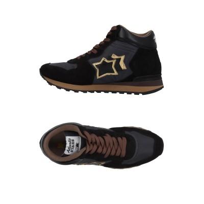 アトランティック スターズ ATLANTIC STARS スニーカー&テニスシューズ(ハイカット) ブラック 37 革 / 紡績繊維 スニーカー&テ