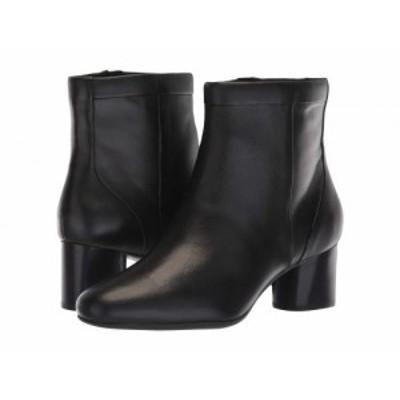 Clarks クラークス レディース 女性用 シューズ 靴 ブーツ アンクル ショートブーツ Un Cosmo Up Black Leather【送料無料】
