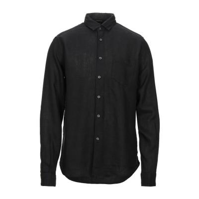 シーピーカンパニー C.P. COMPANY シャツ ブラック S リネン 100% シャツ