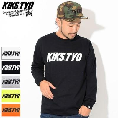 キックス ティー・ワイ・オー Tシャツ 長袖 KIKS TYO メンズ キックス ロゴ ( Kiks Logo L/S Tee T-SHIRTS トップス ロンt KT1808T-01 )