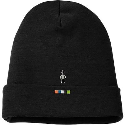 スマートウール 帽子 メンズ アクセサリー Merino 250 Cuffed Beanie Black